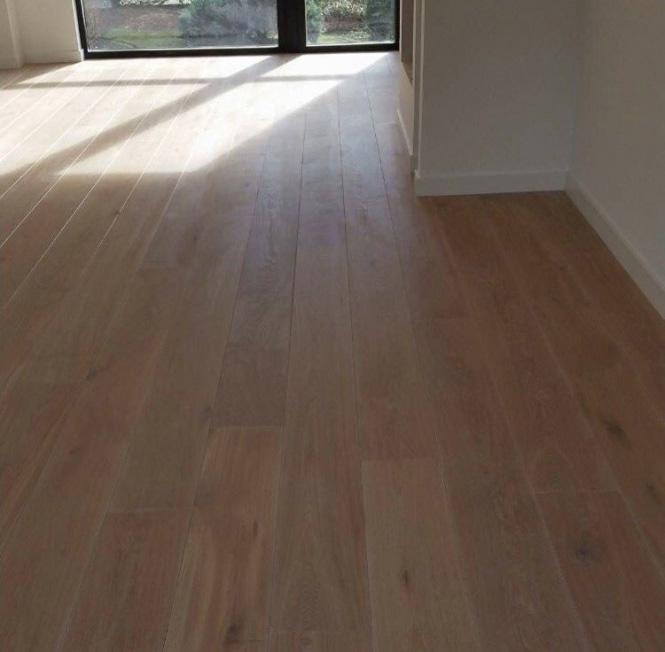 houten vloer schuren en lakken Amersfoort